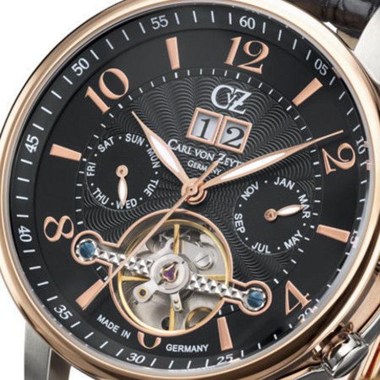 Immagine di Orologio Cronografo Carl Von Zeyten Automatico | CVZ0029RBK