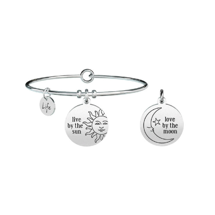Immagine di Bracciale Donna Kidult Philosophy  Live by the Sun Love By The Moon | 731310