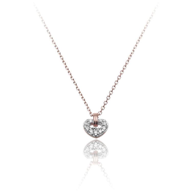 Immagine di Collana Chimento Donna in Oro Rosa e Diamanti  1G09612BB6