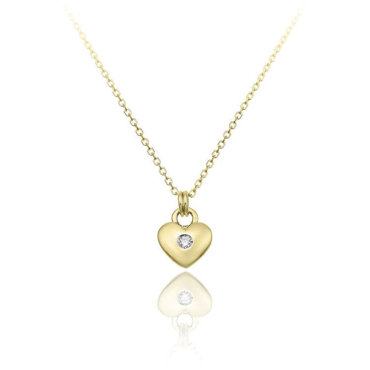 Immagine di Collana Chimento Donna in Oro Giallo e Diamanti 1G09651B11