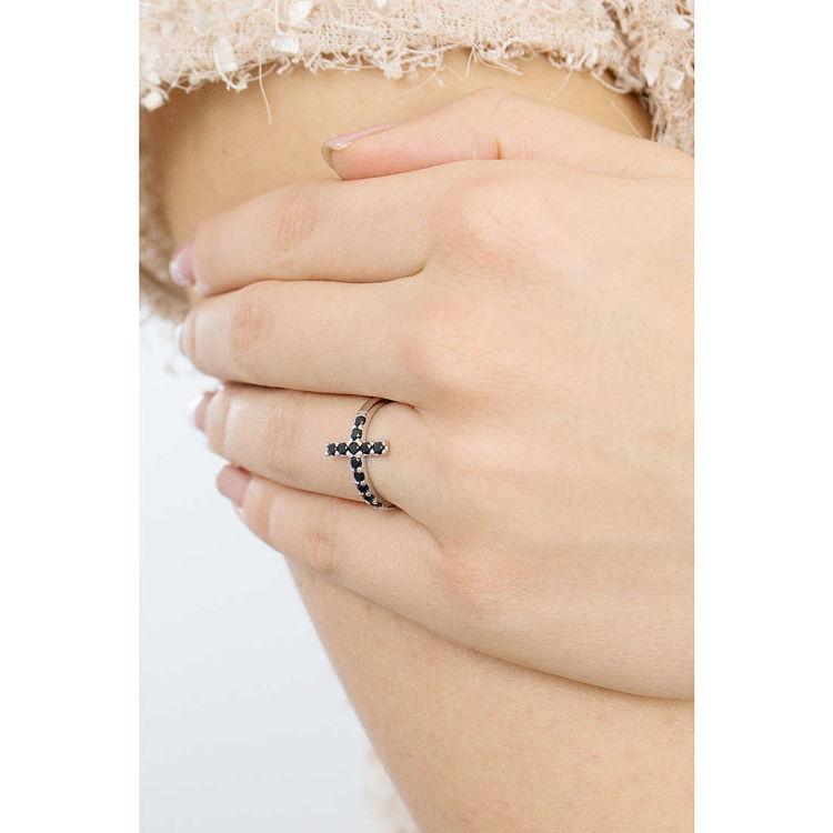 Anello Con Croce di Amen