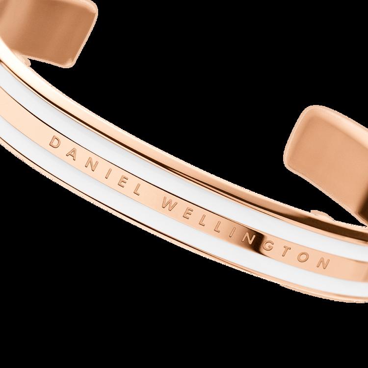Immagine di Bracciale Daniel Wellington Classic Bracelet Satin White Rose | DW00400007