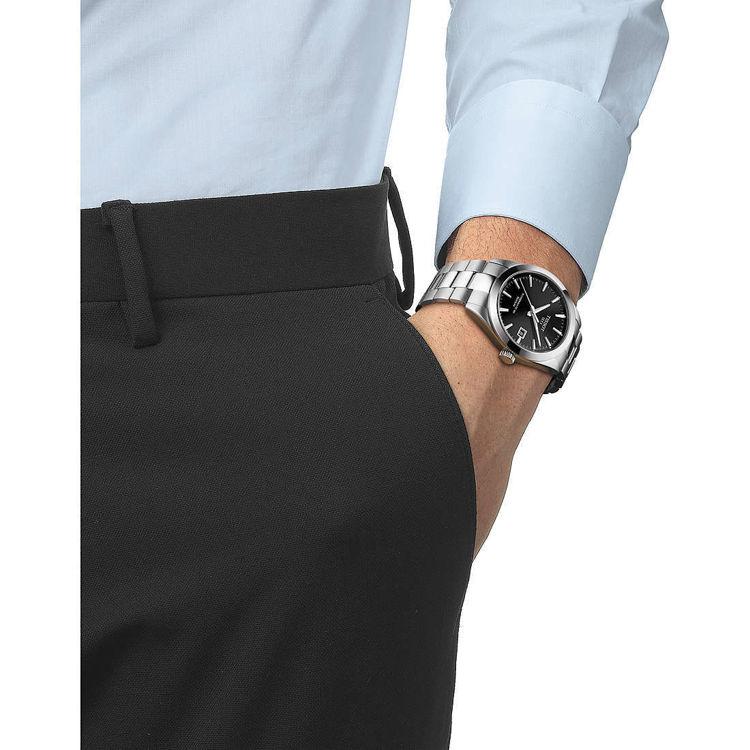 Immagine di Orologio Automatico Tissot Gentleman Powermatic 80 Silicium | T127.407.11.051.00