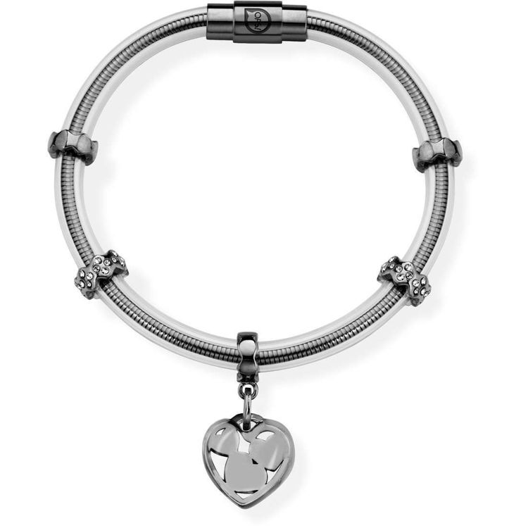 Immagine di Bracciale Donna Ops Objects True Silver Black | OPSBR-497