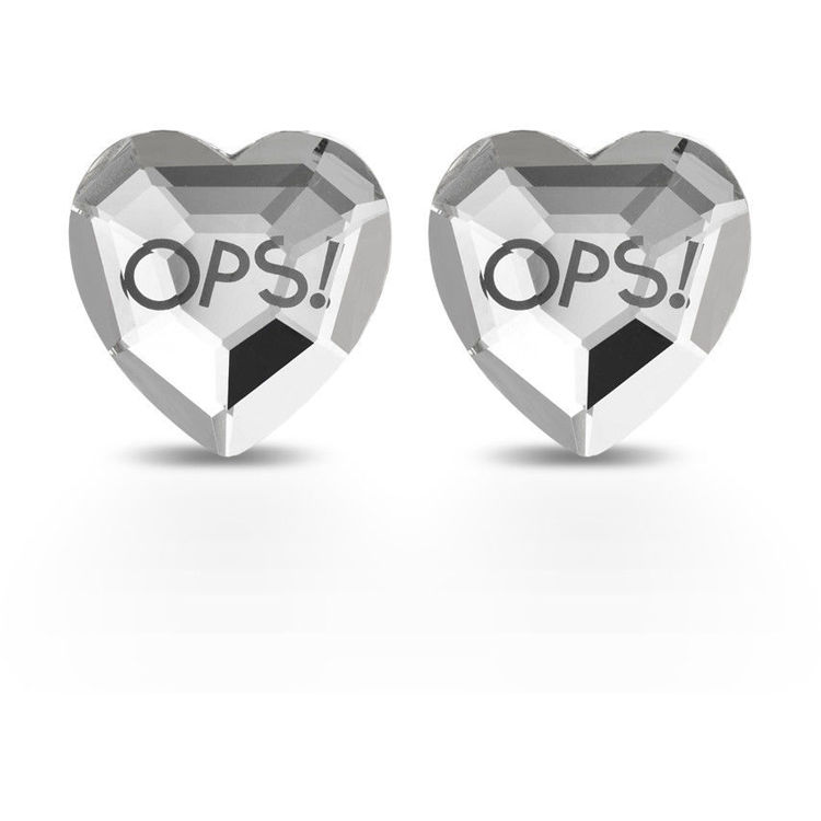 Immagine di Orecchini A Cuore Ops Objects Shiny | OPSOR-420