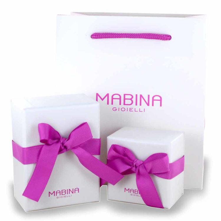 Immagine di Orecchini Di Perle In Argento Gioielli Mabina | 563014