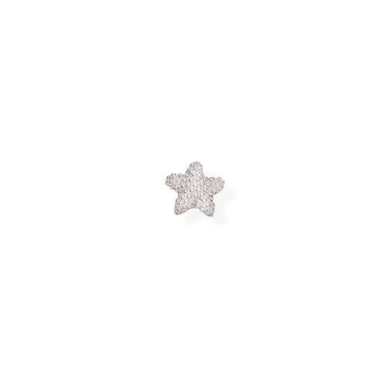 Immagine di Mono Orecchino Donna Stella In Argento Gioielli Amen | EB36