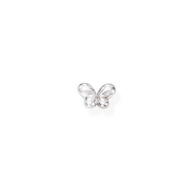 Immagine di Mono Orecchino Farfalla In Argento Gioielli Amen | EB33