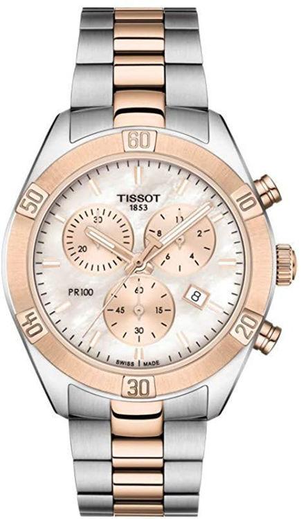 Immagine di Orologio Cronografo Donna Tissot Pr 100 Sport Chic | T101.917.22.151.00