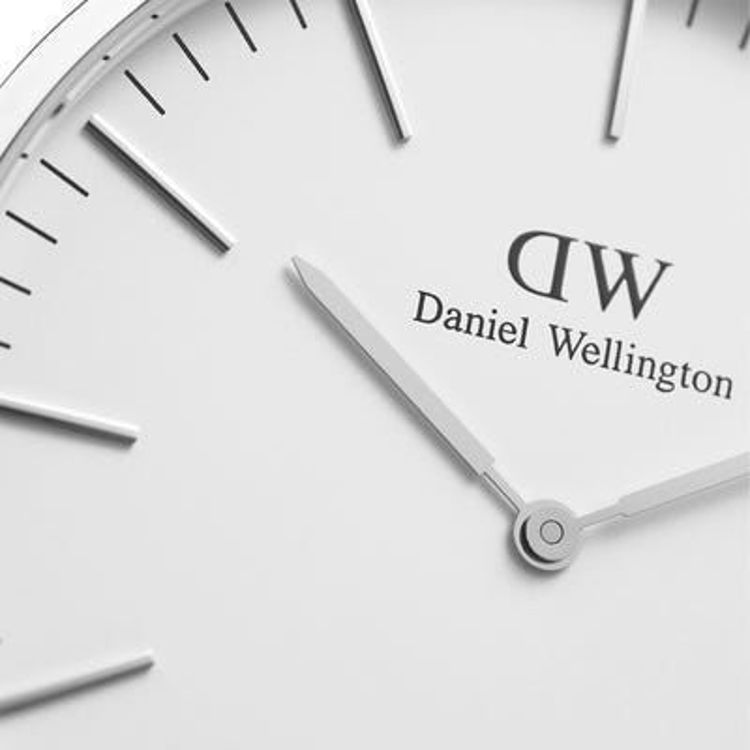 Immagine di Orologio Daniel Wellington Classic Sheffield 40 mm Silver | DW00100020