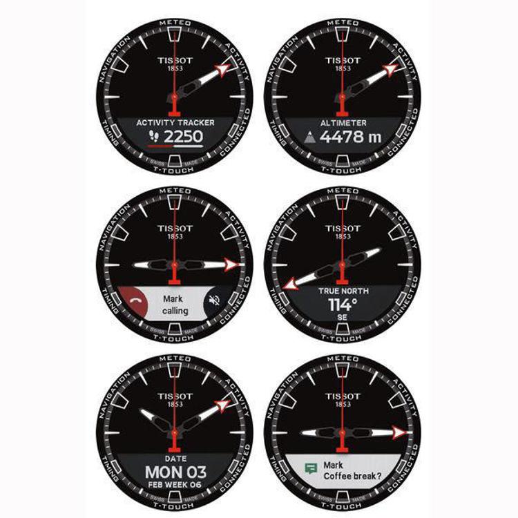 Immagine di Orologio Smartwatch Tissot T-Touch Connect Solar | T121.420.47.051.00
